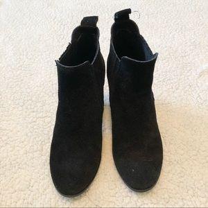 MICHAEL Michael Kors black suede booties
